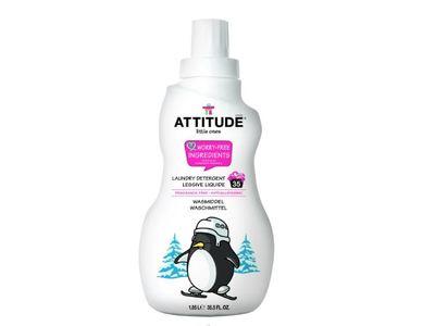 Attitude Little Ones Laundry Detergent, Fragrance Free, 1.05 L - Image 1