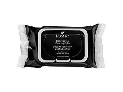 Boscia Black Charcoal Cleansing Cloths, 30 cloths