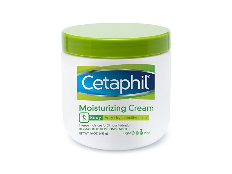 Cetaphil Moisturizing Cream for Very Dry/Sensitive Skin, 16 oz