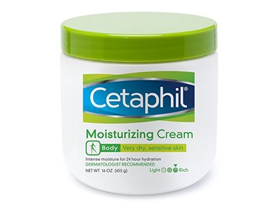 Cetaphil Moisturizing Cream for Very Dry/Sensitive Skin, 16 oz - Image 1