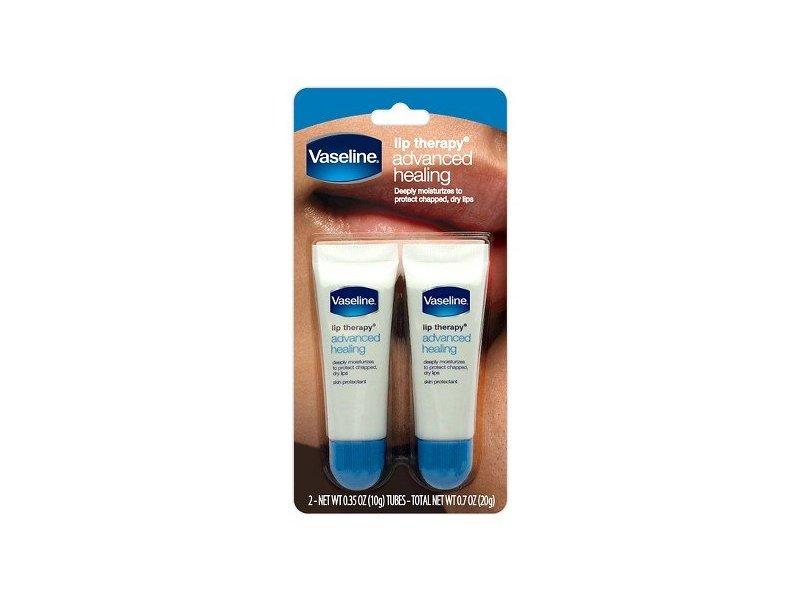 Vaseline Lip Therapy Advanced Healing, 2 ct/0.35 oz