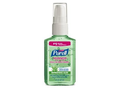 Purell Instant Hand Sanitizer With Aloe, 2 oz