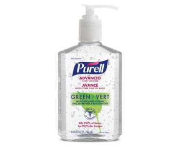 Purell Advanced Green Hand Sanitizer Gel, 295 mL