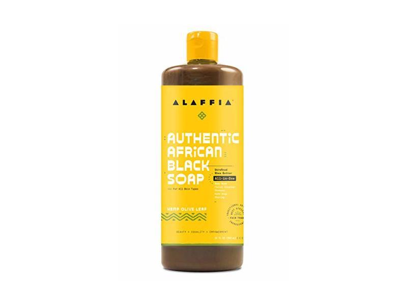 Alaffia Authentic African Black Soap, 32 fl oz
