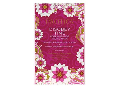 Pacifica Disobey Time Rose and Peptide Facial Mask, 0.67oz