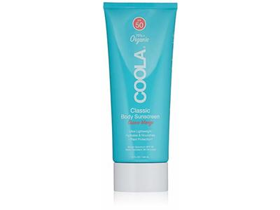 COOLA Organic Classic Body Sunscreen SPF 50, Guava Mango, 5 fl oz/148 mL