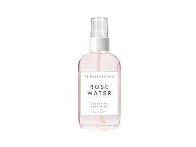 Pearlessence Rose Water Face Mist, 8 oz - Image 1