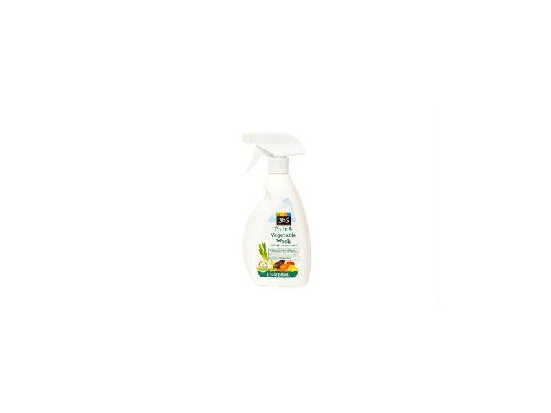 Whole Foods Market Vegetable Wash, Natural lemon Scent, 17 fl oz