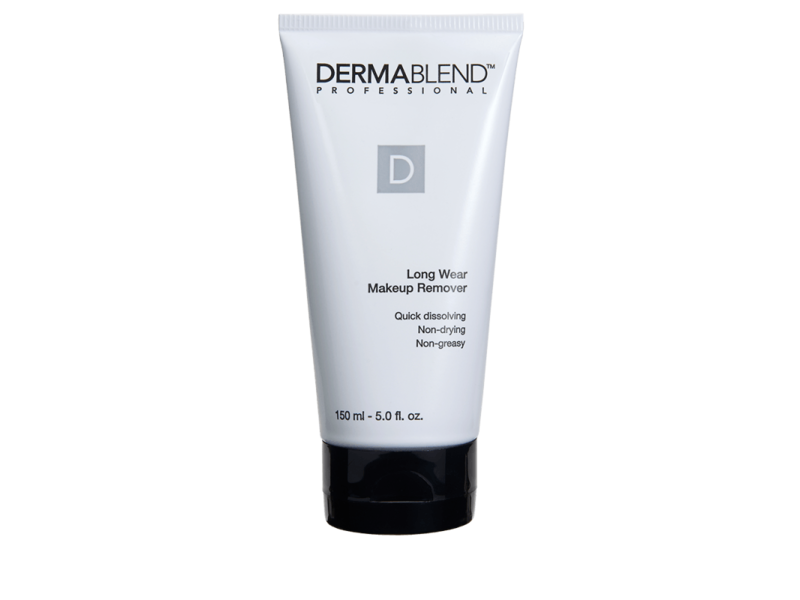 Dermablend Long Wear Makeup Remover Suitable for Full Coverage Makeup, 5 Fl. Oz.