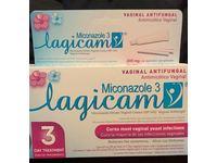 Lagicam V Yeast Infection 3 Day Treatment, Vaginal Antifungal, Miconazole 3, 0.9 oz/25 g - Image 3