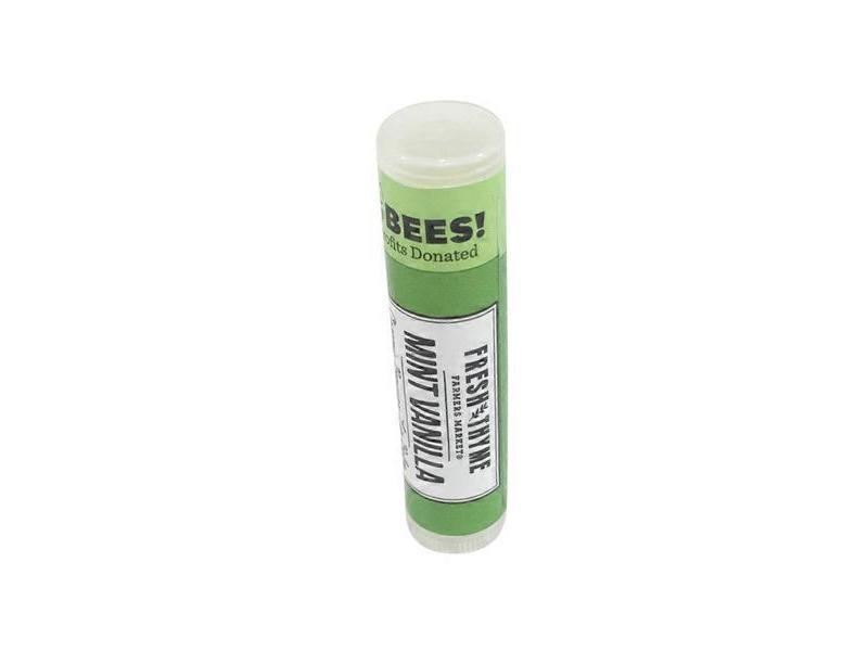 Fresh Thyme Beeswax Lip Balm, Mint Vanilla, 0.15 oz