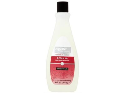 Equate Beauty Regular Nail Polish Remover, 10 fl oz