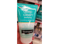 Neutrogena Deep Clean Scrub Purifying Cooling Gel, 4.2 Ounce - Image 3