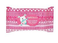 Sweet & Shimmer Face & Body Mini Wipes, Frosted Berry, 15ct - Image 2