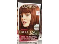 L'Oreal Excellence Triple Protection Color Creme, Light Auburn/Warmer 6R (Pack of 3) - Image 3