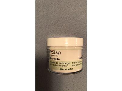 Supernail Prodip French Acrylic Dip Powder, Clear, 2 oz - Image 3