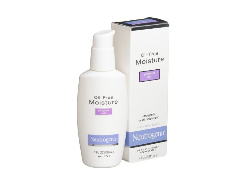 Neutrogena Oil-Free Moisture, Sensitive Skin, 4 Ounces