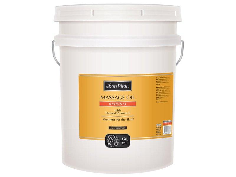 Bon Vital Original Massage Oil, 5 gal