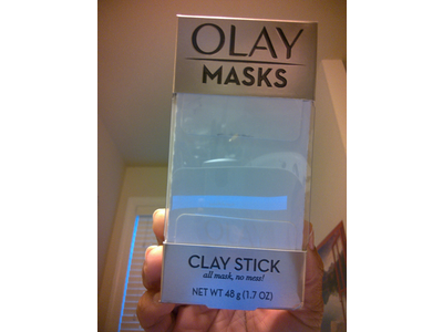 Face Masks by Olay, Clay Facial Mask Stick With Pink Mineral Complex, Fresh Reset, 1 count - Image 3
