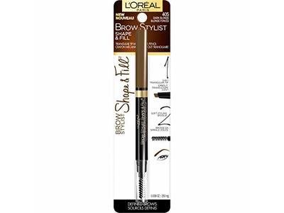 L'Oréal Paris Makeup Brow Stylist Shape & Fill Mechanical Eye Brow Makeup Pencil, Dark Blonde, 0.008 oz. - Image 5