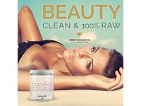 Coconut Oil for Hair & Skin By COCO&CO. Beauty Grade 100% RAW (8oz) - Image 8