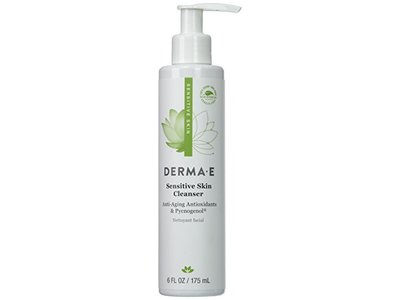 Derma E Sensitive Skin Cleanser, 6 fl oz - Image 1