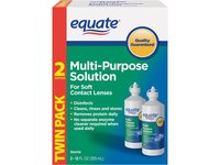 Equate Multi-Purpose Solution, Twin Pack 2-12 oz - Image 2