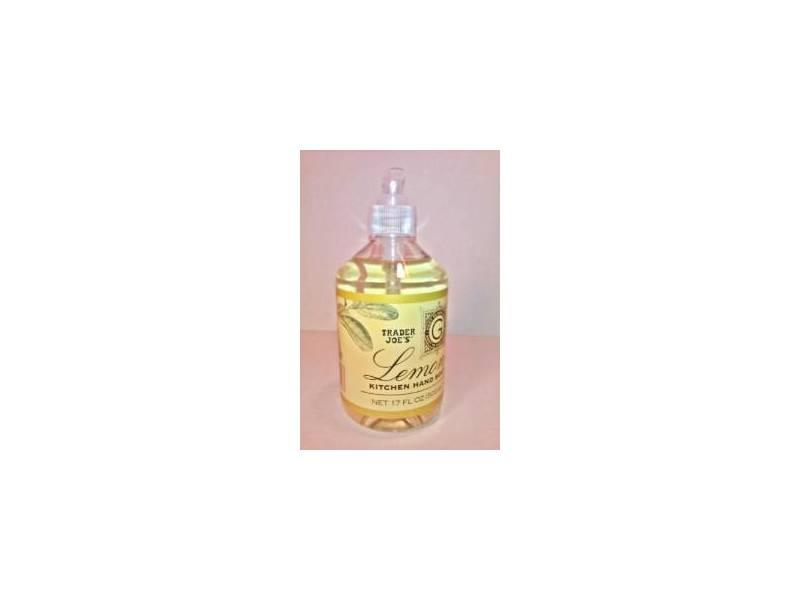 Trader Joe's Kitchen Hand Soap, Lemon, 17 fl oz