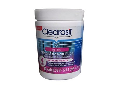 Clearasil Ultra Rapid Action On-to-Go Acne Treatment Wipes, Reckitt Benckiser - Image 4