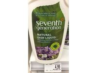 Seventh Generation Natural Dish Liquid, Lavender Floral & Mint, 25 oz. ( Multi-Pack) - Image 3