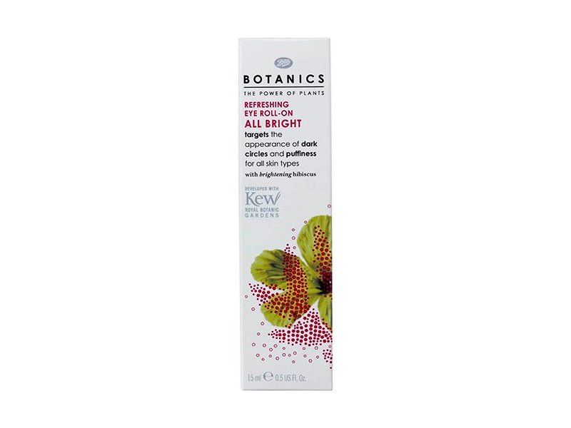 Boots Botanics All Bright Refreshing Eye Roll-On, 0.51 oz