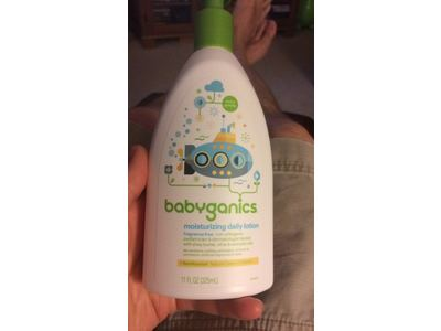 Babyganics Moisturizing Daily Lotion, Fragrance Free, 17 oz Pump Bottle - Image 10
