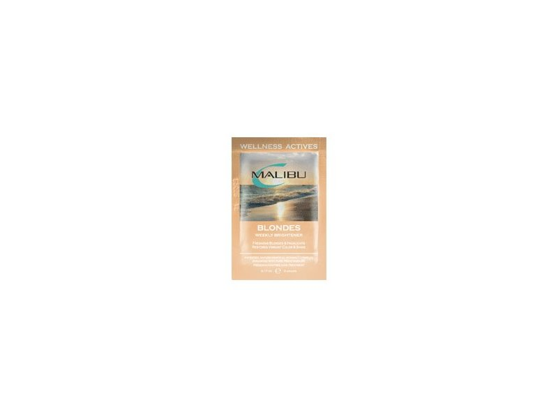 Malibu C Blondes Weekly Brightener, 1 Packet