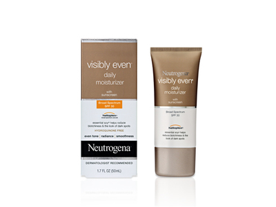 Neutrogena Visibly Even Daily Moisturizer Broad Spectrum SPF-30, Johnson & Johnson - Image 1
