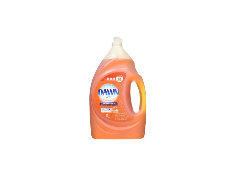 Dawn Ultra Antibacterial Hand Soap/Dishwashing Liquid, Orange Scent, 75 fl oz