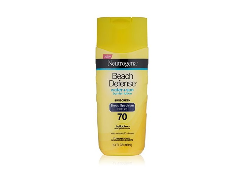 Neutrogena Beach Defense Sunscreen Lotion, SPF 70, 6.7 oz