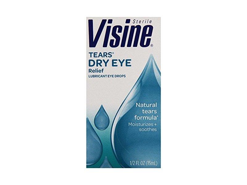Visine tears dry eye