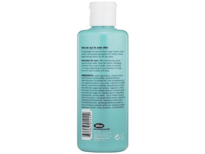Bliss Lemon + Sage Conditioning Rinse, Bliss World