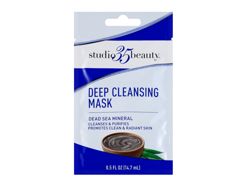 Studio 35 Beauty Deep Cleansing Mask, Dead Sea Mineral, 0.5 fl oz