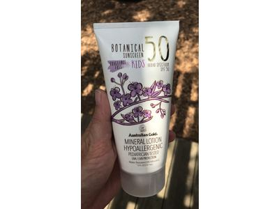 Australian Gold Botanical Sunscreen Mineral Lotion for Kids, Non-Greasy, SPF 50, 5 Ounce - Image 9