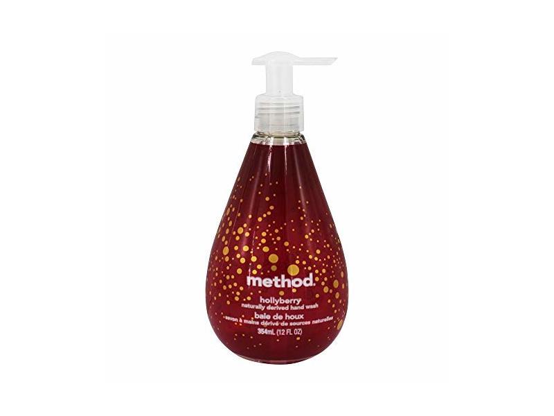 Method Hand Soap Gel, Hollyberry, 11.97 Fl Oz