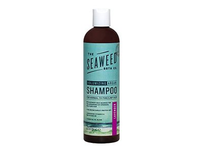 The Seaweed Bath Co. Volumizing Argan Shampoo, Lavender, 12 fl oz