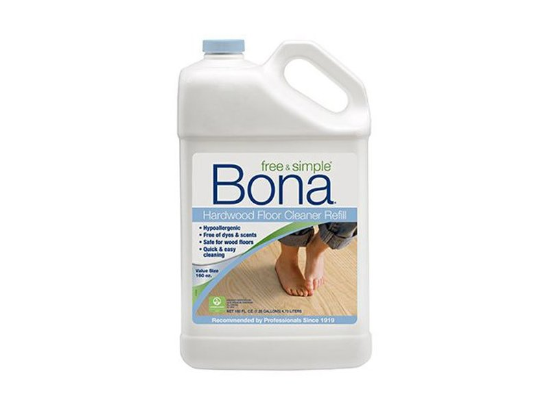 Bona Free & Simple Hardwood Floor Cleaner Refill, 160 fl oz