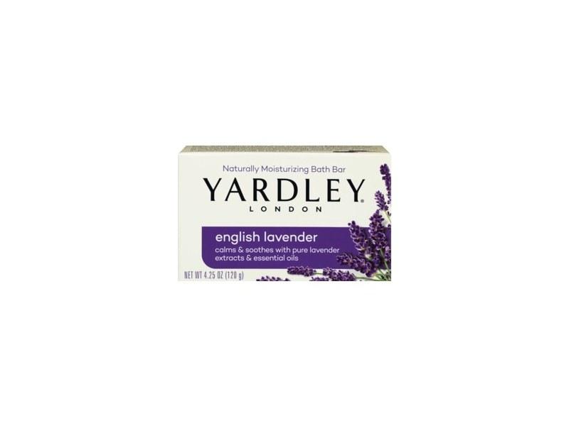 Yardley London Moisturizing Bath Bar, English Lavender