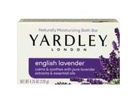 Yardley London Moisturizing Bath Bar, English Lavender - Image 2