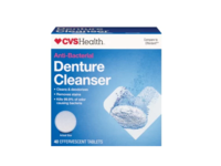 CVS Health Anti-Bacterial Denture Cleanser, 40 tablets - Image 2