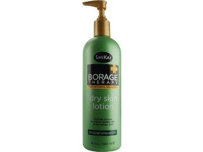 ShiKai Borage Natural Therapy Dry Skin Lotion, Unscented Original Formula, 16 Ounce