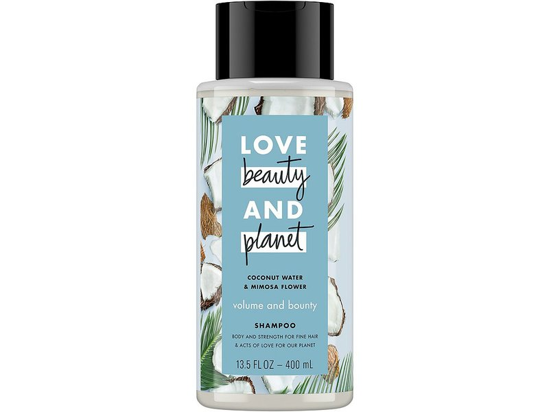 Love Beauty and Planet Coconut Water & Mimosa Flower Volume & Bounty Shampoo