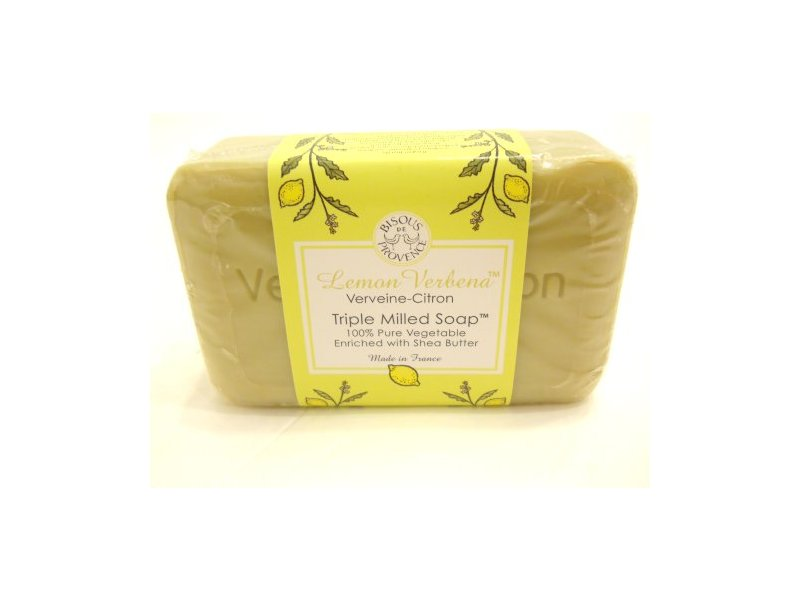 Biscous De Provence Lemon Verbena Verveine-Citron Triple Milled Soap