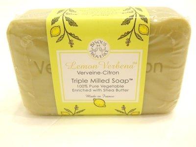 Biscous De Provence Lemon Verbena Verveine-Citron Triple Milled Soap